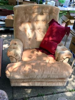 Recliner for sale at Yard Sale