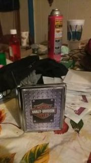 for my smokers out there or Harley-Davidson fans I got a Harley-Davidson cigarette holder