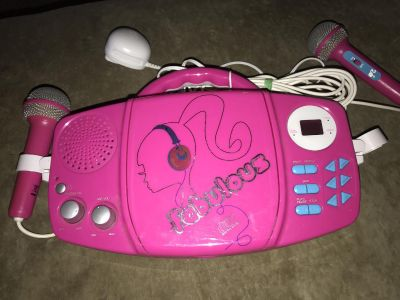 Barbie CD player