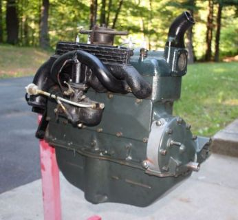 Purchase 1932-1934 Ford Model B Engine w/Manifolds and Zenith Updraft Carburator motorcycle in Belchertown, Massachusetts, United States