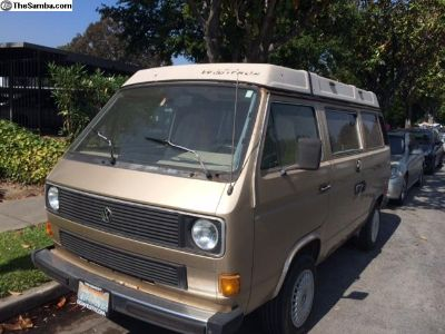 1985 VW Vanagon Westfalia Camper Clean Title