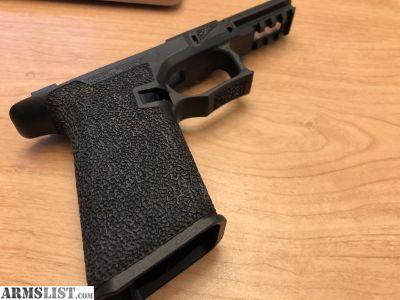 For Sale: GEN 3 Professionally Stippled Full Sized Polymer 80 (P80) frame for Glock