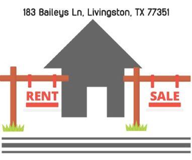 Rent Trailer house in Livingston, Texas