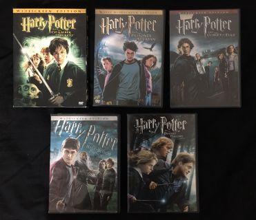 Harry Potter Movies DVD