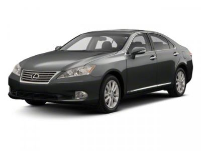 2012 Lexus ES 350 Base (Black)