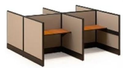 Office Furniture Cubicles Desk Sit Stand Desk Cubes Benching Style Cube