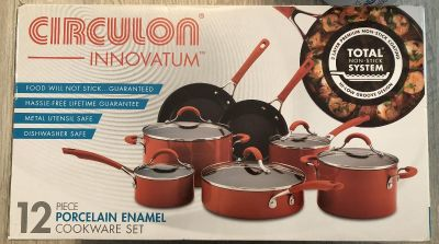 12 pc. Cookware