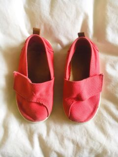 ZARA BABY GIRL CLASSIC CANVAS SHOES