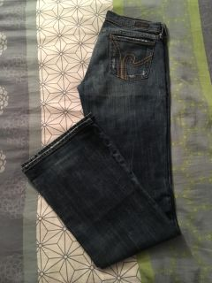 Citizens of Humanity jeans size 28, 34 inseam. Covington ppu.