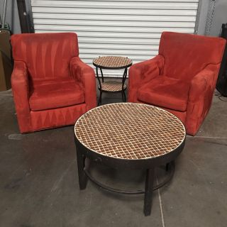Rustic Chairs + Tables *great price!*