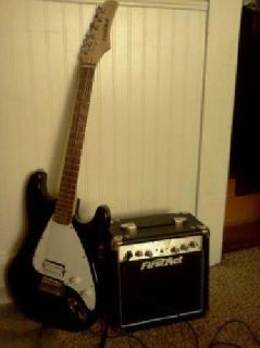 $60 New First Act Guitar with Amp