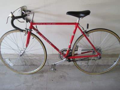 1978 Schwinn Super Le Tour 12.2 - 19 Scarlet Red
