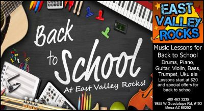 Back to school music lessons!
