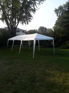 10 x 30 party tent (with sides)