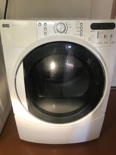 Kenmore Elite Quiet Pak 4 front load washer and dryer