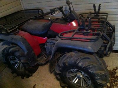 Looking to trade several atvs for heavy duty boat rig  (Ville platte)