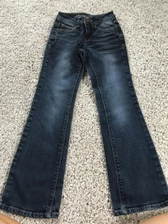 Girls Justice Jeans Size 7/8 slim