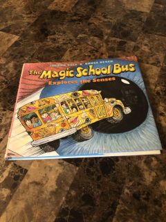 Hardcover the magic school bus explores the senses book excellent learning source for children