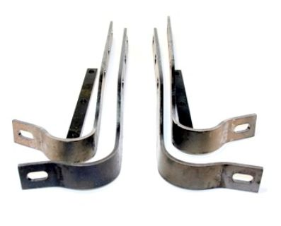 Rear Bumper Bracket Set, 356/356A