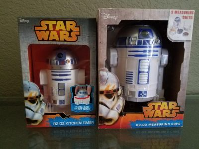 R2D2 Kitchen Timer and Measuring Cups