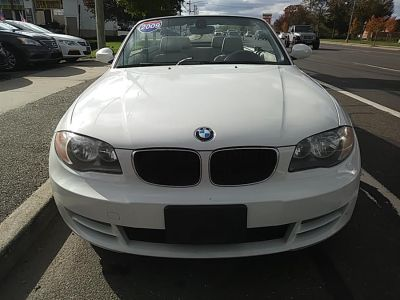 2009 BMW 1-Series 128i (Alpine White)
