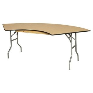 Serpentine Plywood Folding Table - Larry Hoffman Chair