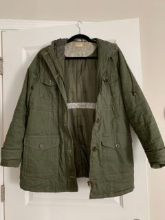 Maternity utility jacket with God s