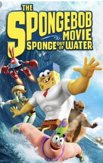 DVD Sponge Out Of Water