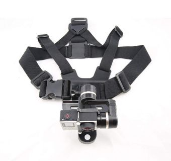 3 axis wearable gimbal stabilizer used once
