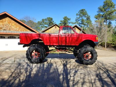 Mega mud truck. Possible trades