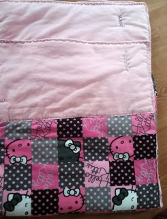 """Double Sided HELLO KITTY 42"""" 50"""" home made blanket"""