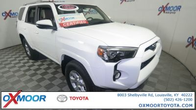 2018 Toyota 4Runner SR5 (Super White)
