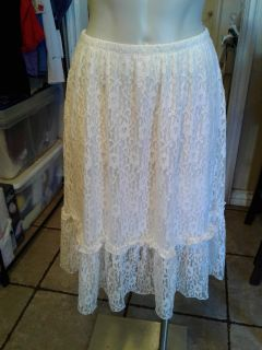 New lace skirt small
