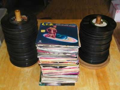Huge Lot Of Vintage 45 Records 1950S 60S 70S