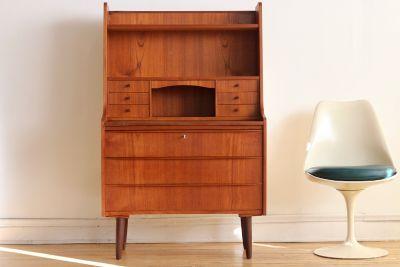 Mid Century Danish Modern Secretary Desk/Vanity