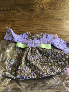 Bitty twin dress- American Girl Doll clothes