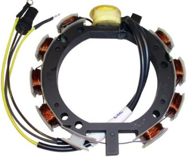 Purchase Johnson Evinrude Stator 1978-1988 60-75HP 3cyl 583724 583119 583830 173-3724 motorcycle in Burnsville, Minnesota, US, for US $135.00