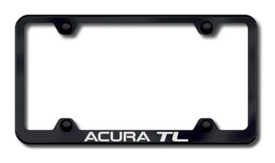 Purchase Acura TL Wide Body Laser Etched License Plate Frame-Black Made in USA Genuine motorcycle in San Tan Valley, Arizona, US, for US $34.49