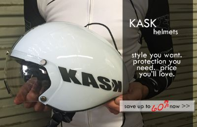 60% OFF on KASK Road Bike Helmets at Classic Cycling