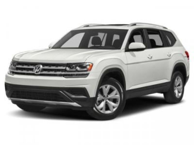 2019 Volkswagen Atlas 3.6L V6 SE w/Technology R-Line (Pure White)