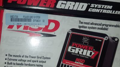 MSD Power Grid Ignition