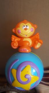 Fisher-Price Go Baby Go! Crawl-Along Musical Ball