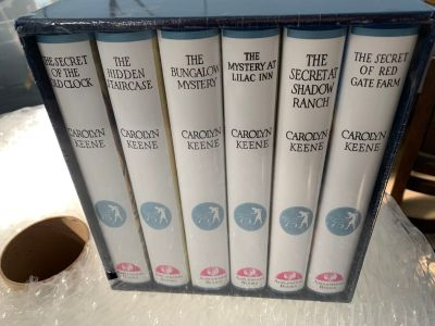 ancy Drew 75th anniversary book collection (6 books)