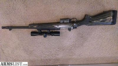 For Sale: Ruger Gunsite Scout with Scope