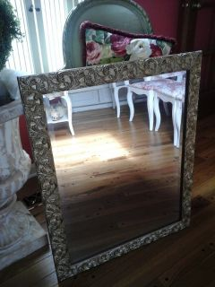 Pretty new beveled mirror