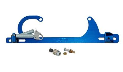 Buy Advanced Engine Design Blue Square Bore Throttle Cable Bracket Kit P/N 6600B motorcycle in Naples, Florida, United States, for US $81.95