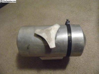 8 X 16 Center Fill Fuel Tank, Aluminu Center Fill