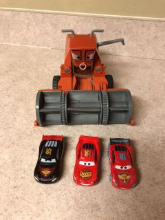 Frank the combine and three different McQueen s.