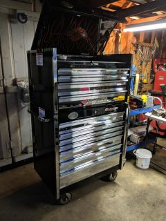 Snap On 90th Anniversary Combo tool chest.