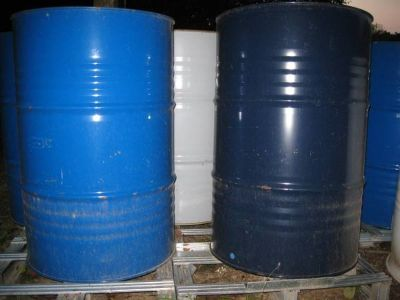 55 Gallon Steel Drums / Barrels For Wood Stove / Burn / Grill Smoker